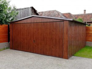 Plechová garáž 4,5x5,5