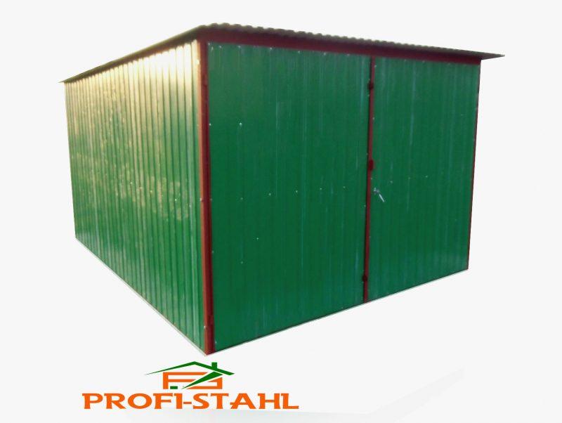 Plechová garáž hátra lejto 3×6 szín