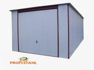 Plechová garáž hátra lejto 3,5x5 szín